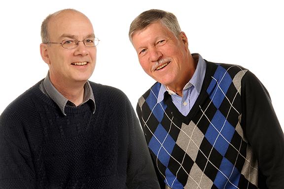 Arthur Schnorfeil und Dirk Berg-Schlosser